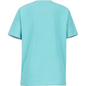Marmot Nico Lyhythihainen T-paita Tytöt, tahiti blue heather